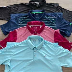 Adidas Mens Golf polos 2XL
